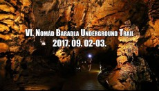 VII. Nomád Baradla Underground Trail 2018.